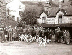 Shepherds Meet at the Queen's Head, Troutbeck, in the late 1940s.