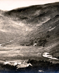 Mardale, roof of Dun Bull Hotel in foreground
