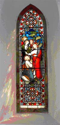 The Memorial window to William Sewell