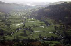 Flooding at Troutbeck in 2000