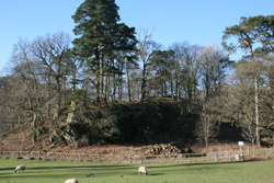 Site of original Rydal Hall