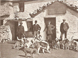 Coniston Foxhounds at the Travellers' Rest Inn